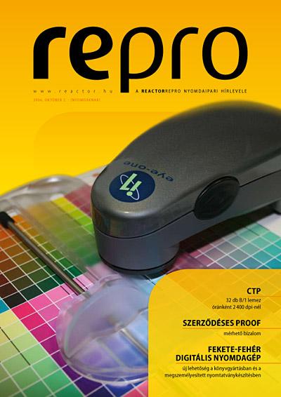 RePro – a ReactorRepro nyomdaipari hírlevele