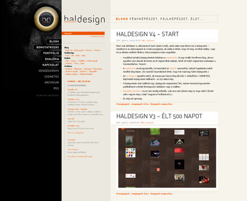 HALDESIGN v4 – start