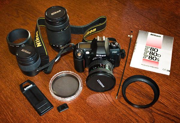Eladó filmes fényképezőgép: Nikon F80
