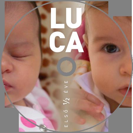Luca első fél éve – DVD korong