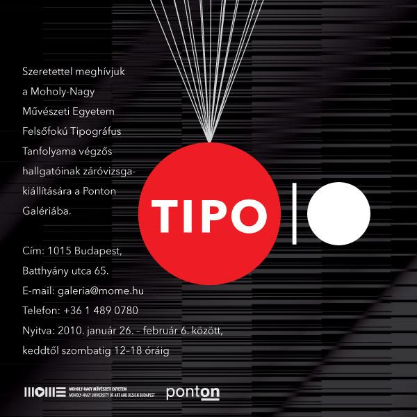 Tipo 2010 Záróvizsga-kiállítás