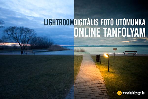 """Lightroom tanfolyam """"online brosúrák"""""""