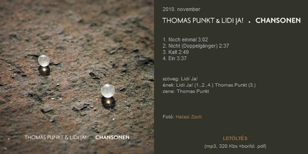Thomas Punkt & Lidi Ja Chansonen