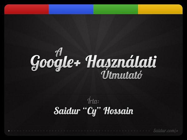 Google+ használati útmutató