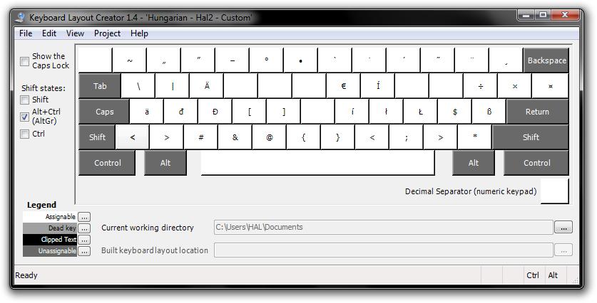Egyedi billentyűzetkiosztás Microsoft Keyboard Layout Creatorral (2/2)